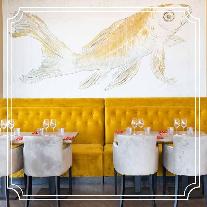 Restaurant - Voile Rouge - Saint Laurent du Var