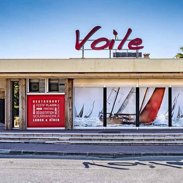 Voile Rouge - Restaurant Saint Laurent du Var